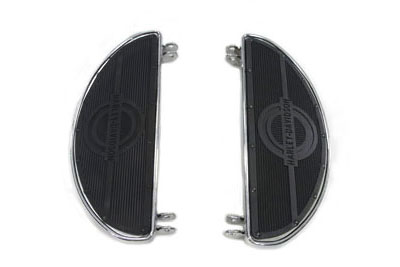 Replica Driver Footboard Set with H-D Logo