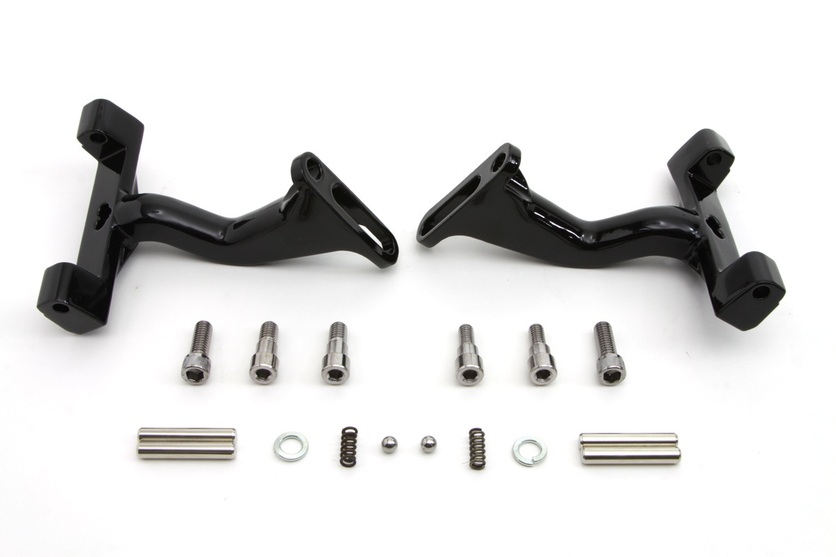 Black Reduced Reach Passenger Footboard Mount Kit