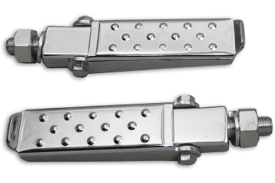 Clamp On Footpeg Set Chrome