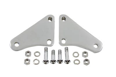 Footpeg Mount Kit Passenger Chrome