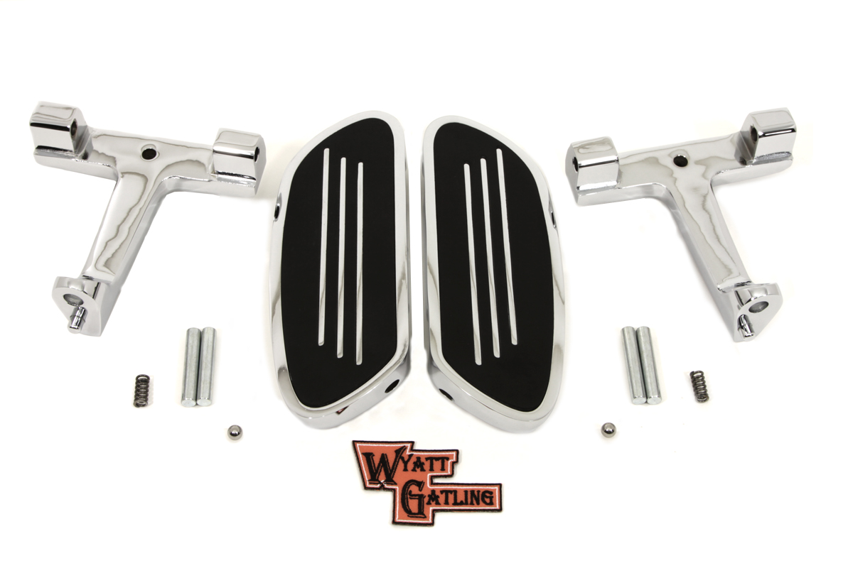 Chrome Passenger Footboard Kit