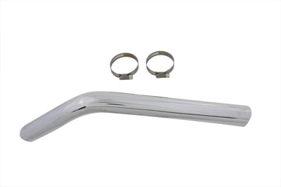 Exhaust Crossover Heat Shield Chrome