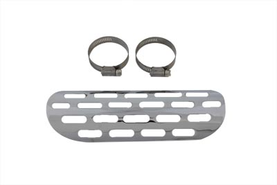 Exhaust Heat Shield - Perforated Style