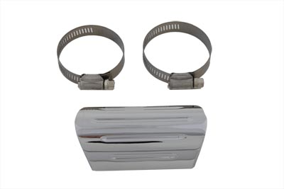 Exhaust Heat Shield, Grooved Style