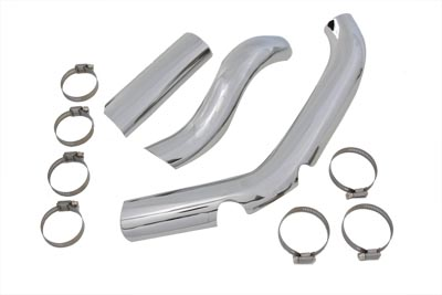 Two Into One Exhaust Heat Shield Kit