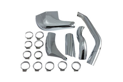 Exhaust Pipe Heat Shield Set