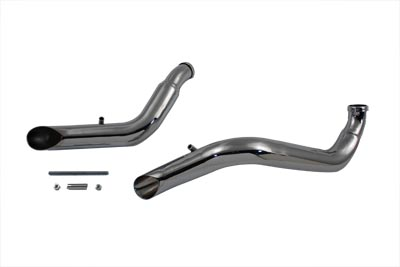 Exhaust Drag Pipe Set Down Type