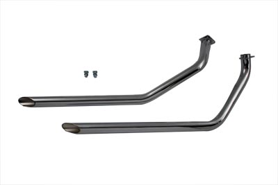 Exhaust Drag Pipe Set for Swingarm