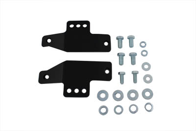 Black Seat Rail Mount Kit
