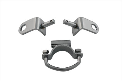 Chrome Solo Seat Mount Kit