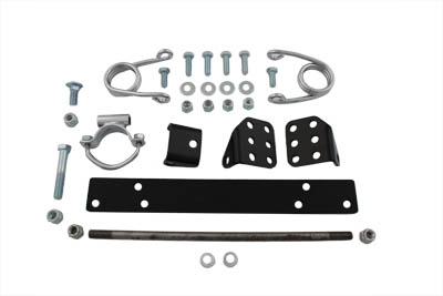 Police Type Solo Seat Mount Kit