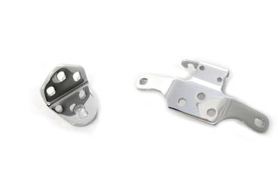 Chrome Top Motor Mount Set