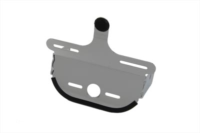Chrome Deco Tail Lamp Mount Bracket