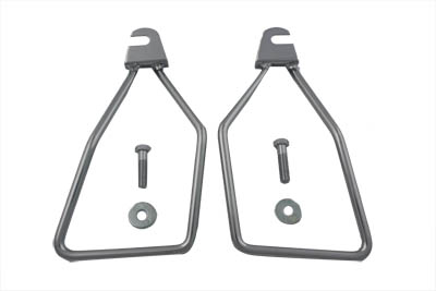 Chrome Saddlebag Support Set