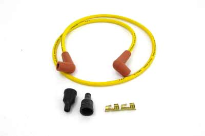 Yellow Suppression Core 7mm Spark Plug Wire Kit