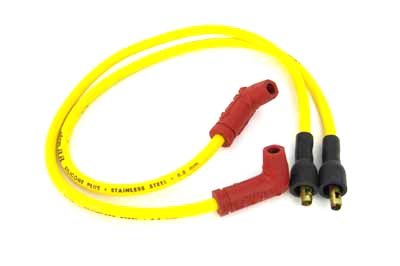 Accel Yellow 8.8mm Spark Plug Wire Set