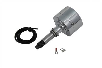 Auto Advance Distributor 12 Volt Chrome