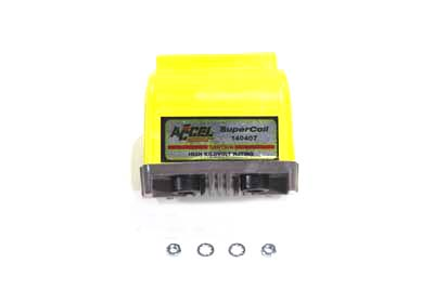 Accel Yellow Dual Fire H.V. Super Coil