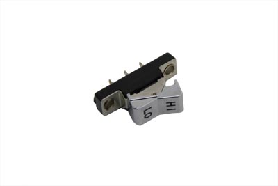 Handlebar Rocker Switch Hi-Low Chrome