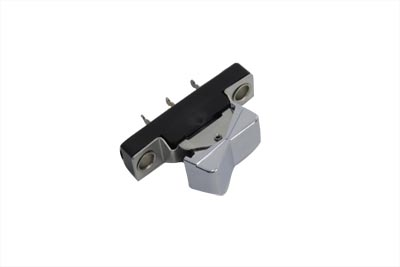 Handlebar Rocker Switch Plain Chrome