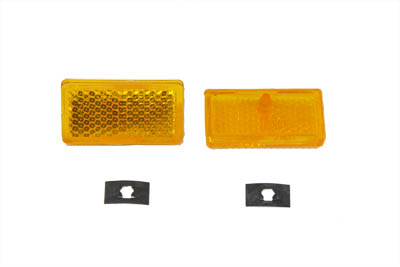Front Amber Reflector Set