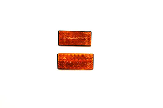 OE Front Amber Reflector Set
