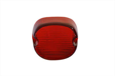 Tail Lamp Lens Laydown Style Red