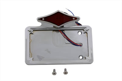 Tail Lamp and License Plate Assembly Diamond Style