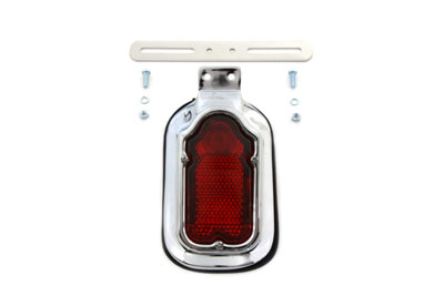 Chrome Tail Lamp Assembly Tombstone Style