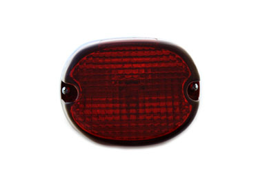 Chrome Deco Lay Down Tail Lamp Assembly