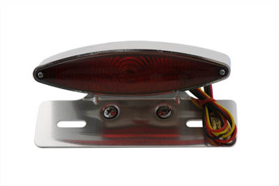Chrome Snake Eye Fender Mount Tail Lamp Kit