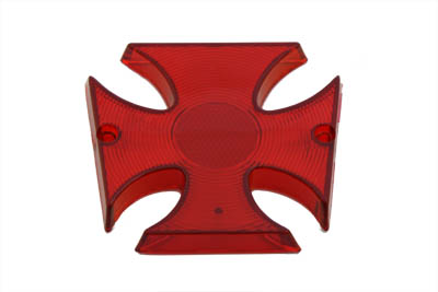 Tail Lamp Lens Maltese Style Red