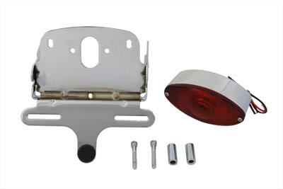 Chrome Cateye Tail Lamp Assembly Kit