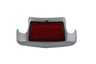 Red LED Rear Fender Lamp Tip with Light