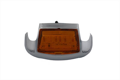 Amber LED Front Fender Lamp Tip with Light