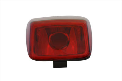 Tail Lamp Lens Smooth Style Red