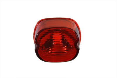 Laydown Style Red Tail Lamp Lens