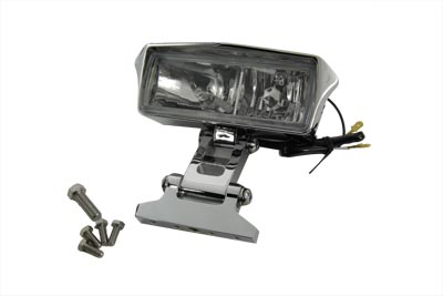 "7"" Rectangular Headlamp Assembly Glow Style with Visor"