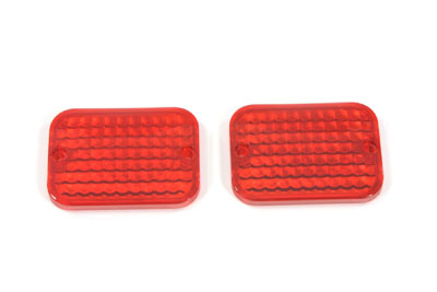 Marker Lamp Lens Set Red Standard Style