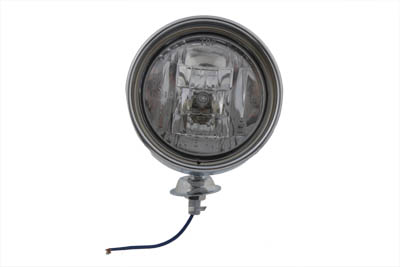 "Chrome 4"" Spotlamp with H-3 Bulb Inset Type"