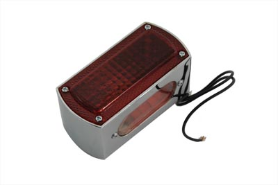 Lay Down Tail Lamp Assembly Smoked LED
