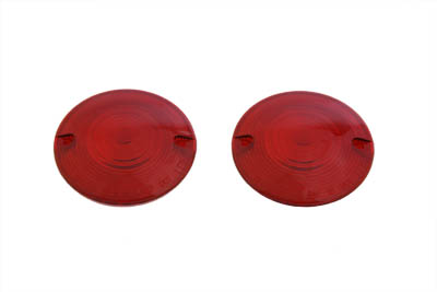 Turn Signal Lens Set Red Front