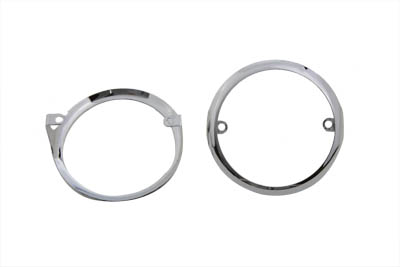Turn Signal Trim Rim Set Chrome