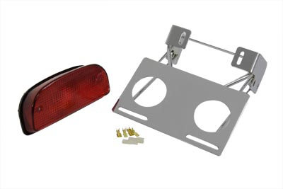 Chrome Slice Tail Lamp Bracket Assembly