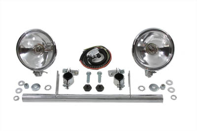 Chrome Spotlamp Kit with Ride Control