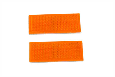 Rear Reflector Set Amber