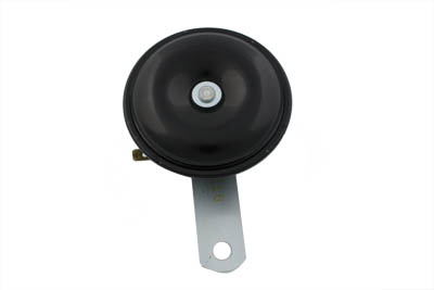 Mini Horn 12 Volt Black