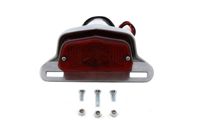 Aluminum Sport Tail Lamp Assembly Large Lucas Style