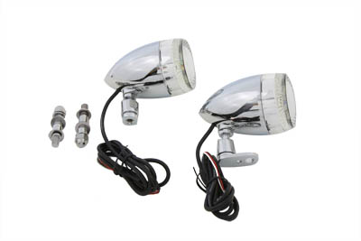 Bullet Turn Signal Set with Swivel Mount