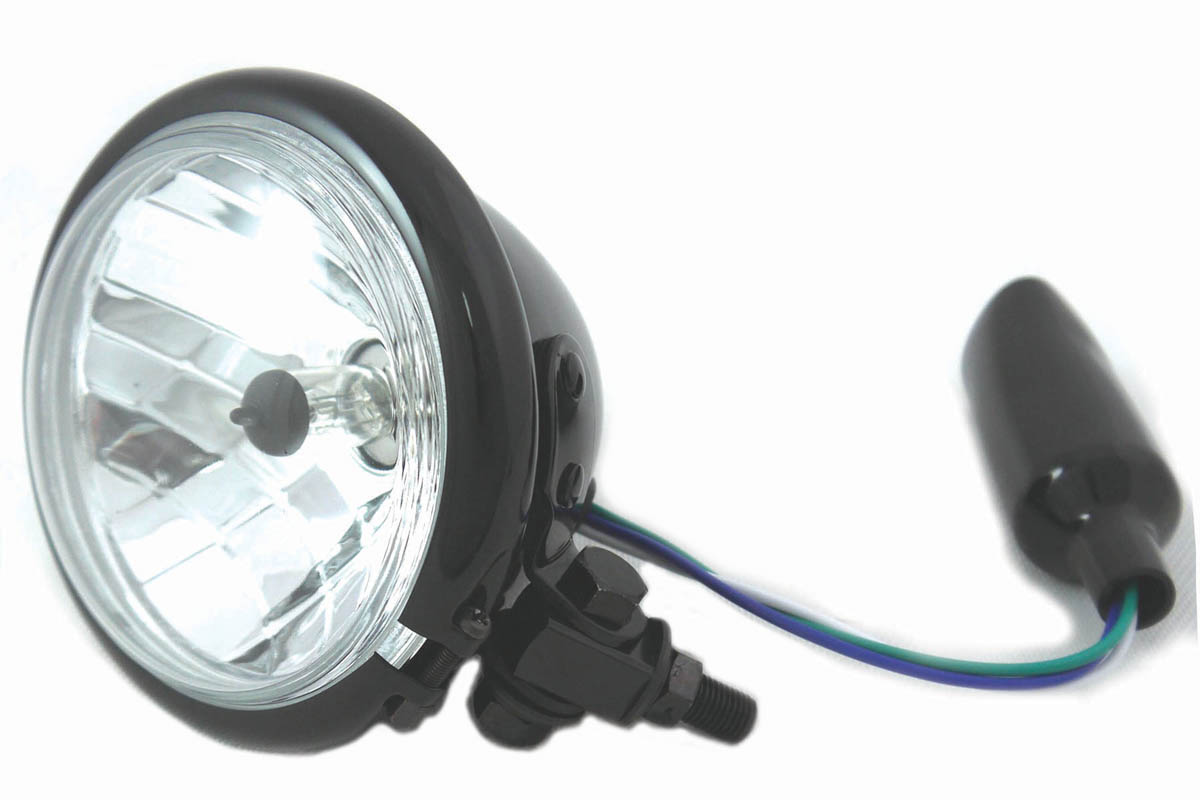 "4-1/2"" Round Headlamp Black"